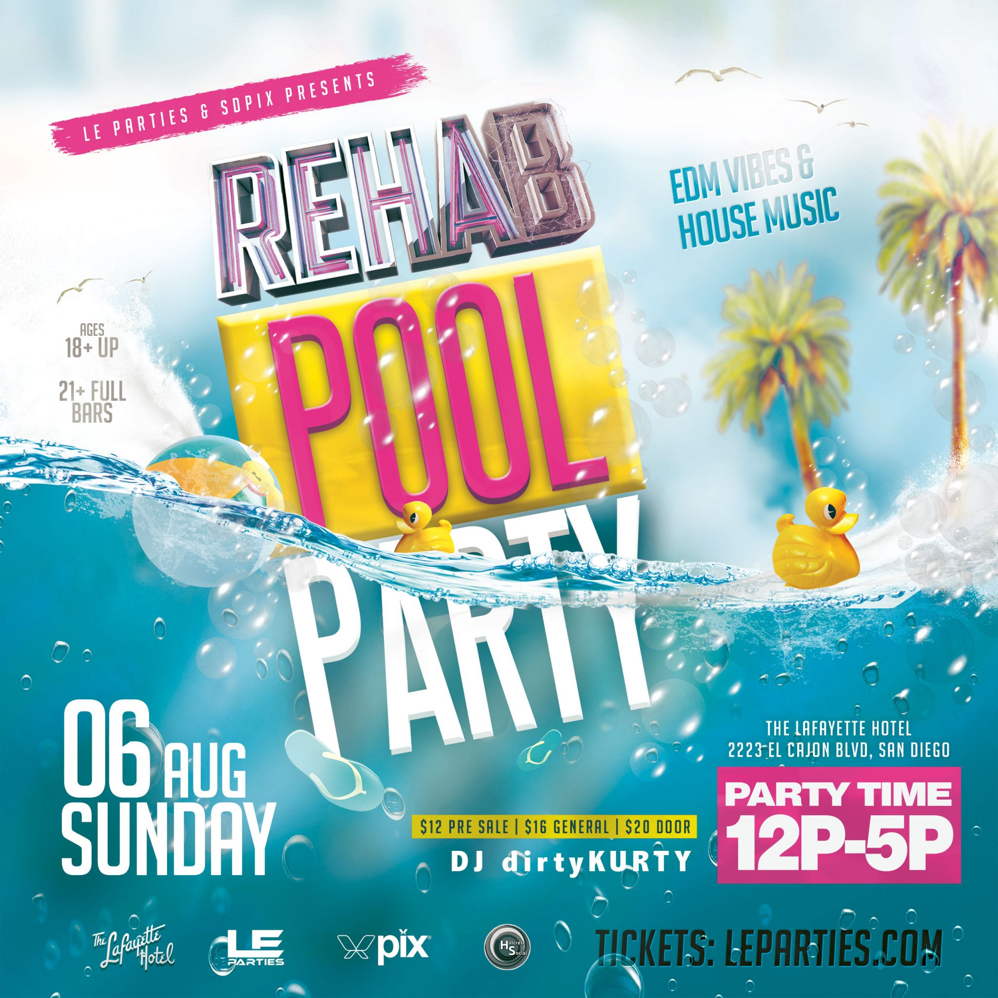 City Of El Cajon >> REHAB Day & Pool Party - LE Parties