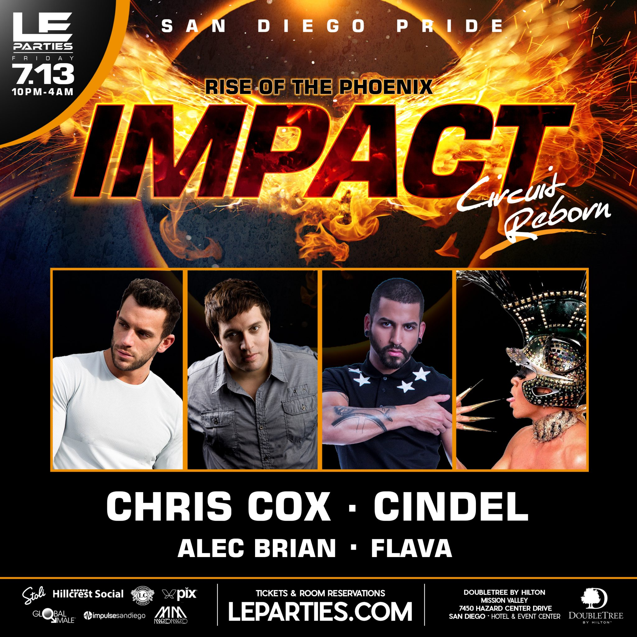 Impact Rise Of The Phoenix Circuit Reborn Le Parties